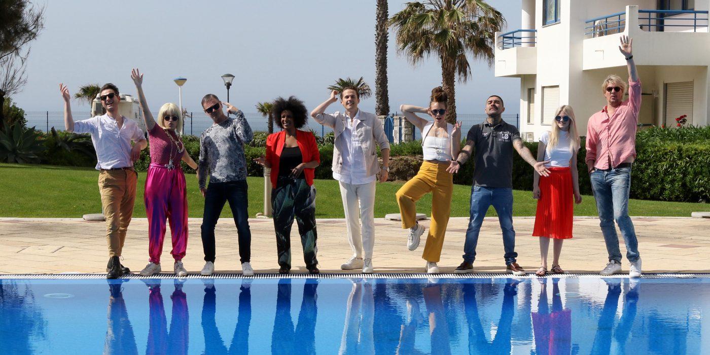 Artister på inspirationsresa till Portugal. Diggilooo 2018.