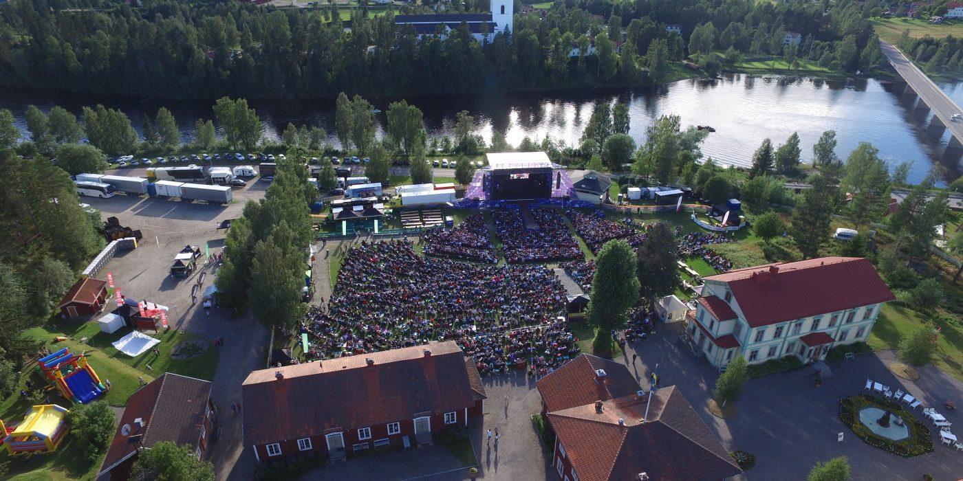 Publikhav från Diggiloo Järvsö.